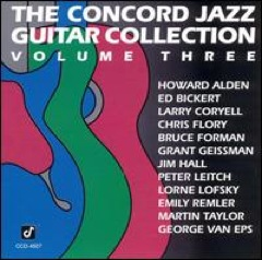 Concord Jazz Guitar Vol 3
